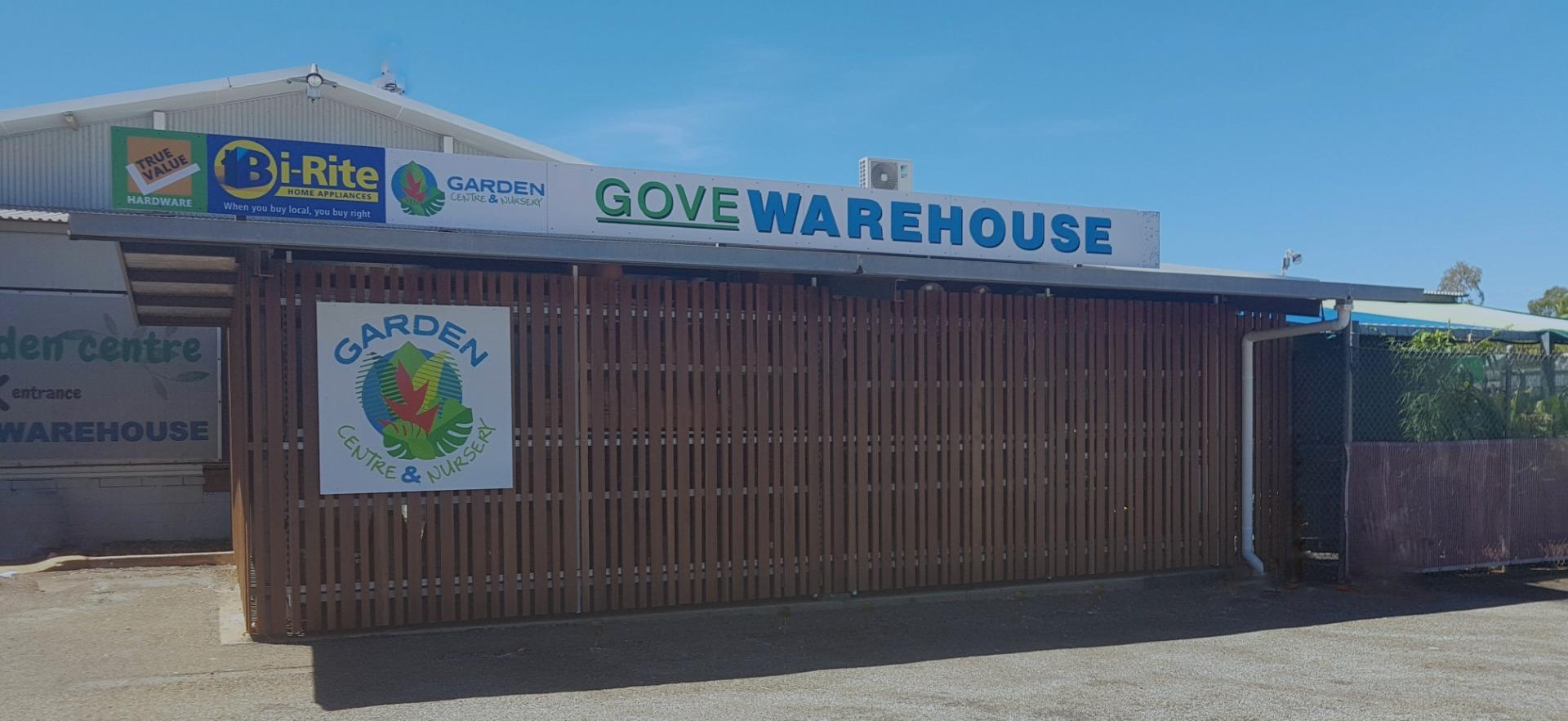 Welcome to Gove Warehouse